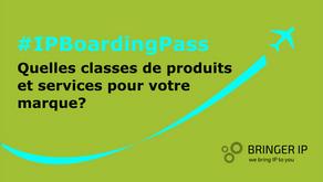 Quelles classes de produits et services pour votre marque ?