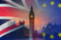 BREXIT concept image of London image an