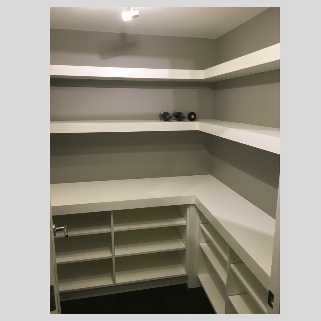 Wine storage room repaint