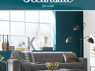 Welcome 2018 & a new colour of the month!