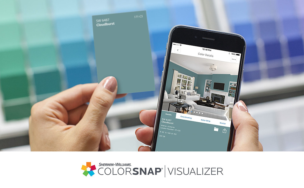 Colour matching app
