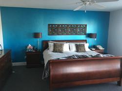 Beautiful bedroom faux finish