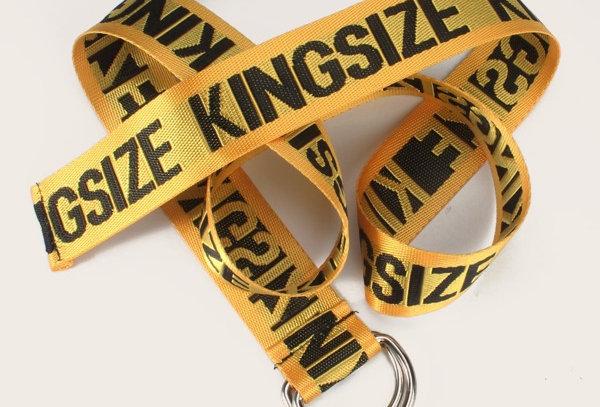 """""""KINGSIZE"""" Lettering Belt"""