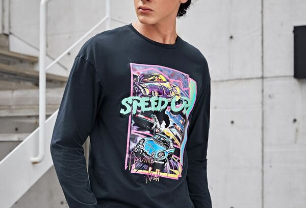 """SPEED UP"" Graphic Tee"