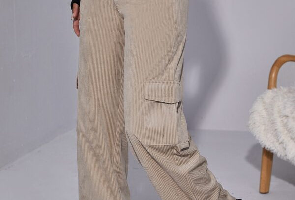 Cord Cargo Trousers