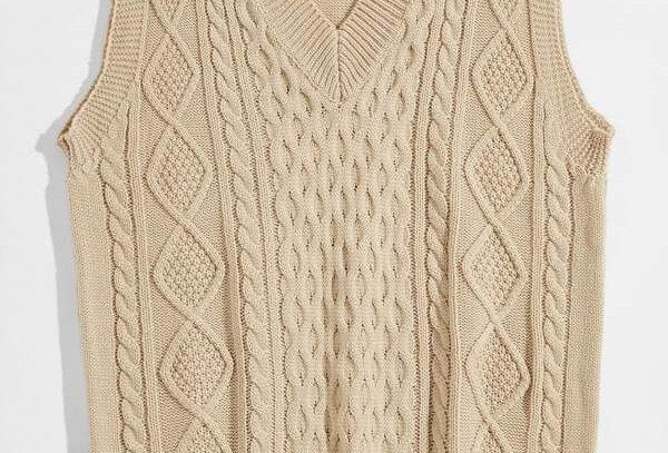 """VINTAGE CREAM"" Sweater Vest"