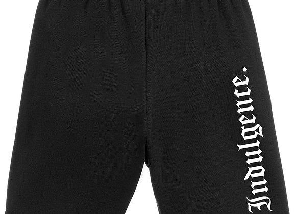 Unisex Black Utility Shorts