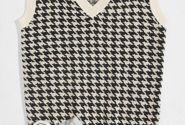 """""""VINTAGE"""" Vest Sweater"""