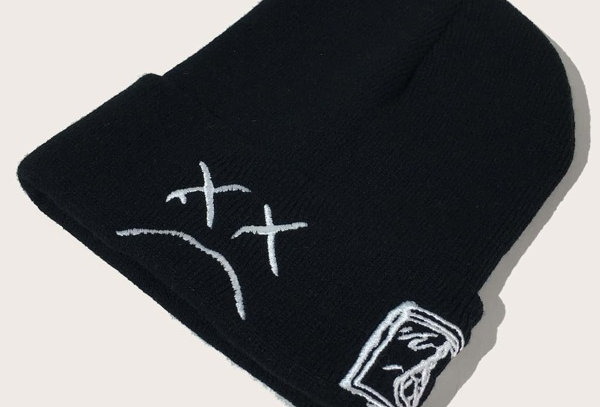 """"""":("""" Embroidery Beanie"""