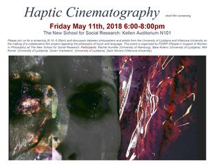 Haptic Cinematography at the New School