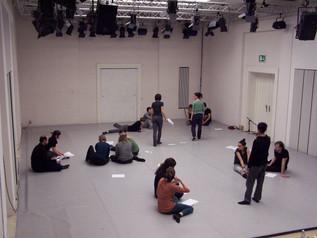 Workshop Bewegung und Sprache in Hellerau