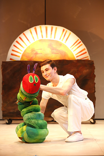 THE VERY HUNGRY CATERPILLAR SHOW.