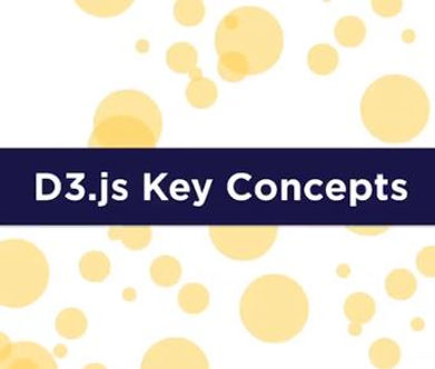 Bill Shander has a free course on d3.js concepts for beginners.