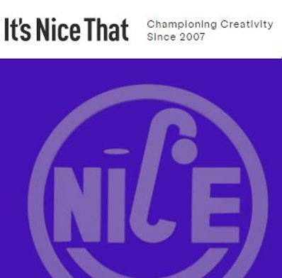 It's Nice That supports creativity through their platform,Creative Lives in Progress, offering advice and inspiration, and their job board,If You Could.