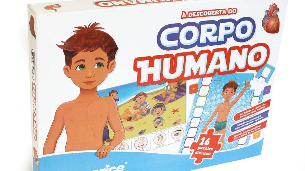Educational Puzzle - À Descoberta do Corpo Humano