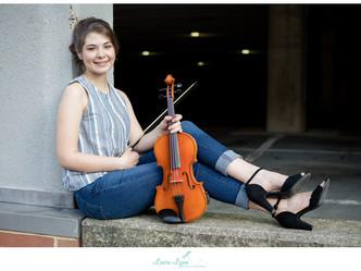 Alyssa Rocks Her Guitar & Violin