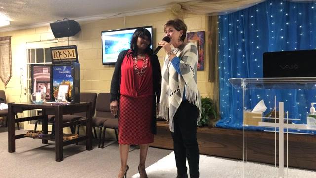 Apostle  Kathy Holcomb