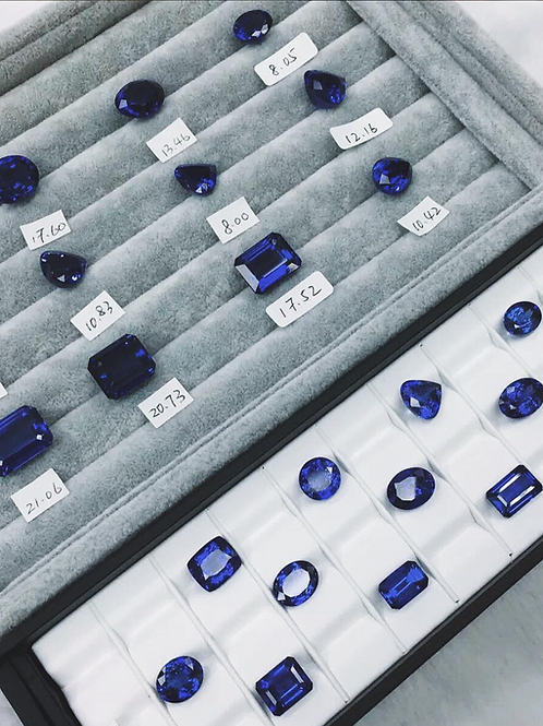 Tanzanite de IronLady Gemstones