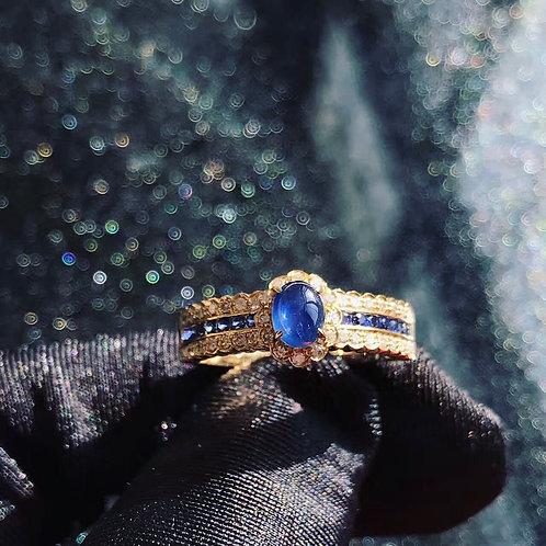 Sapphire Lesbian Ring de IronLady