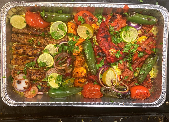 Lamb and Chicken Family Platter