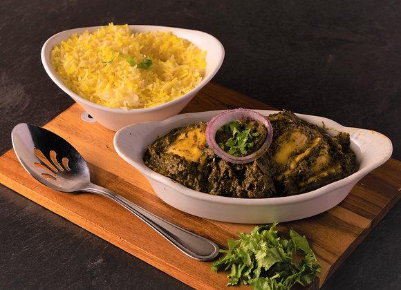 Cheese Ravioli with Palak Sauce