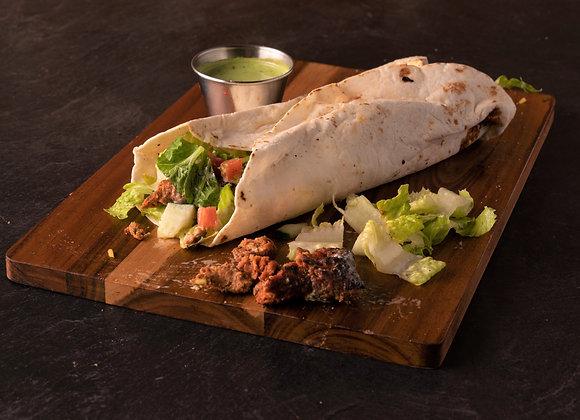 Chicken Seekh Kabob Wrap