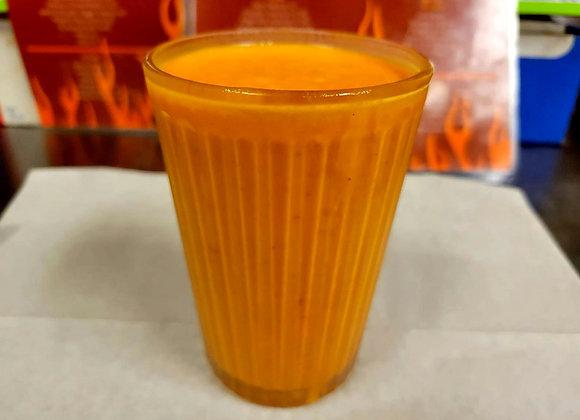 Pumpkin-Saffron Lassi