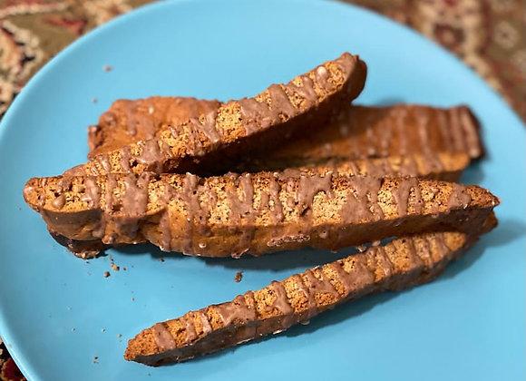Vegan Chai Biscotti, 2 pieces