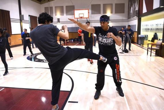 Sifu Taky Kimura's Jun Fan Gung Fu Seminar and Birthday Celebration, Washington