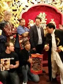 Kung Fu Masters and Grandmasters Dinner