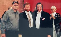 David Tice, Chuck Norris, Bob Wall