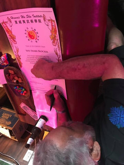 Jeet Kune Do Full Instructor Snake Blocker Certificate (Hawaii Affiliate)