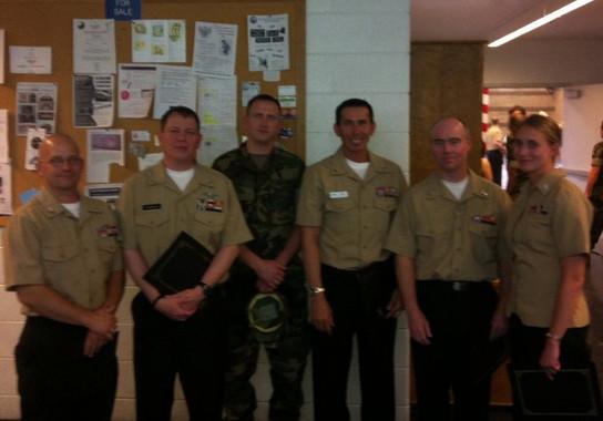Awards Presentation - Denver Navy & Marine Reserve Center