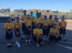 Snake Blocker Training US Navy Sea Cadet Corps and League Cadets Corps