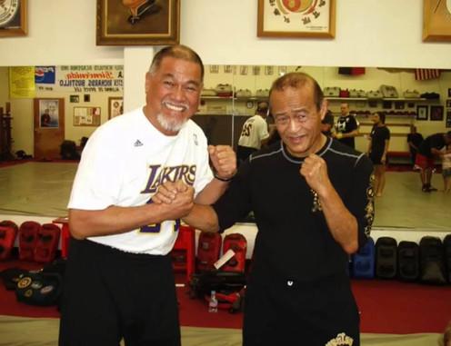 Sifu Richard Bustillo and Sifu Dan Inosanto