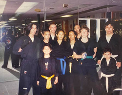 Snake Blocker & Students, Blocker Academy of Martial Arts, Palos Verdes, California