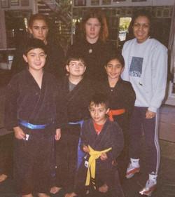 Professeur Magida Raguig and Students, Blocker Academy of Martial Arts, Palos Verdes, California
