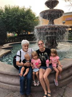 Professeur Jean-Piere Julemont and the Blocker Family, Denver, Colorado