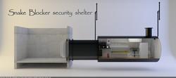 Snake Blocker Security Shelter Design