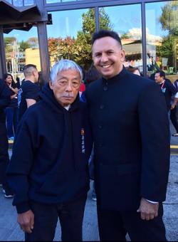 Sifu Taky Kimura and Sifu Kainoa Li