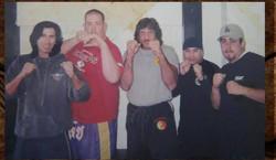 Snake Blocker, Bart Vale, Mike Omerbegovich and Students