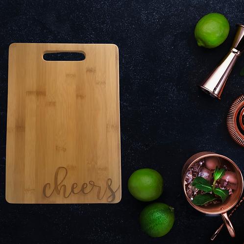 Cheers Cutting Board
