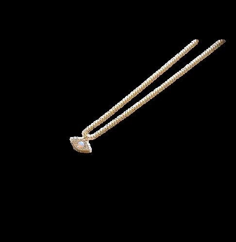 Opal Eye Necklace