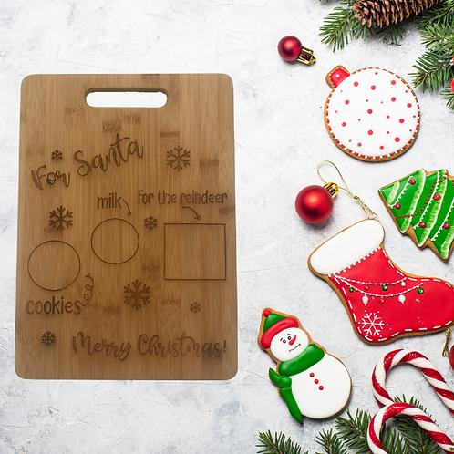 For Santa Cutting Board
