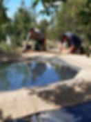 Unser neuer Teich