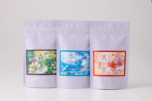 Wa Yuru Herbal Tea 3 Pack Set (Forest / Water / Wind)