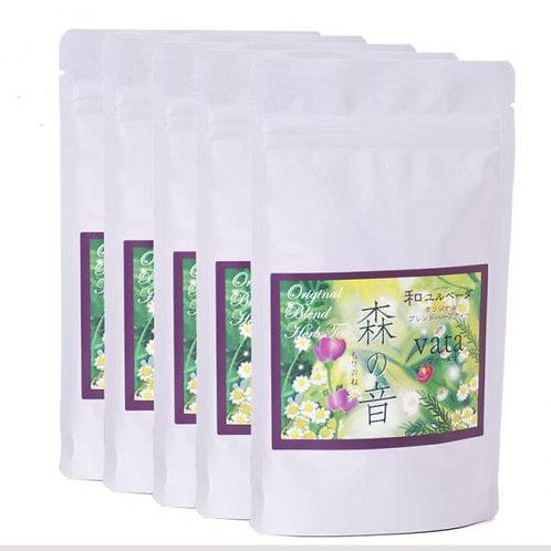 Forest Sound (Vata) Wa Yuru Herbal Tea (set of 5)