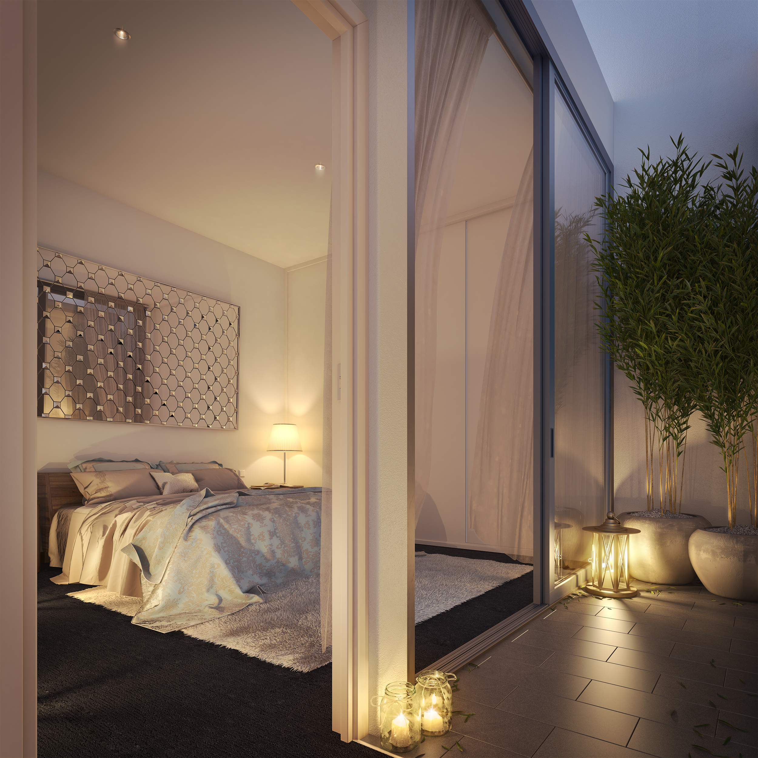 IVORY, LANE COVE - BEDROOM