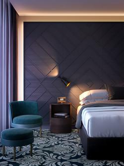 65 SUSSEX ST - BEDROOM