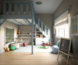 CHILD BEDROOM VIEW 2